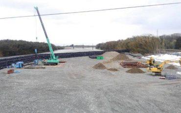 橋改築工事